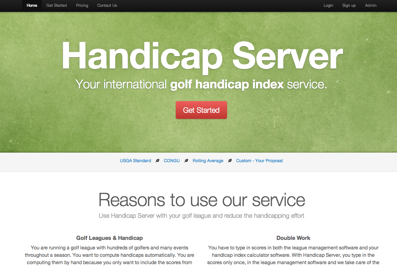 Handicapserver